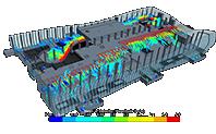 Математическое моделирование здания нового Симферопольского аэропорта
