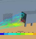 CFD анализ уникального здания