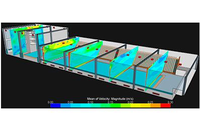 Анализ проектных решений по ОВиКВ в помещении бассейна