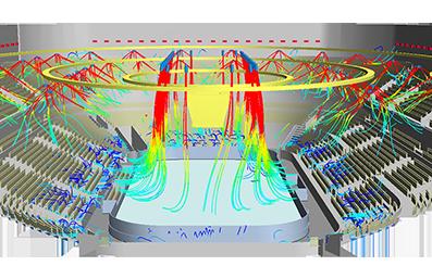 Анализ проектных решений по вентиляции ледовой арены