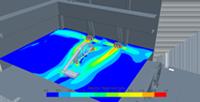 Моделирование системы вентиляции в цеху
