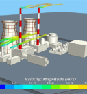 Моделирование обтекания ветром