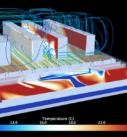Моделирование воздушных потоков ЦОД