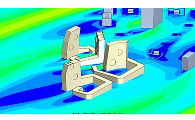 Моделирование ветровых нагрузок на многоквартирные жилые дома