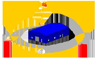 Энергомоделирование здания Молярного цеха