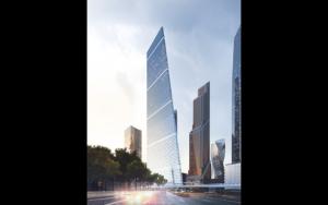 Эффект тяги в высотном здании Москва Сити