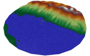 Тепловая карта - математическое моделирование