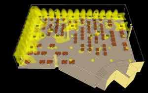 Моделирование микроклимата офисного пространства