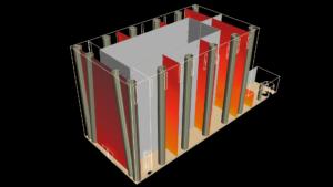 Моделирование микроклимата высоких помещений