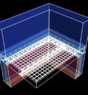 Распределение температуры в объеме наружной ограждающей конструкции чердака